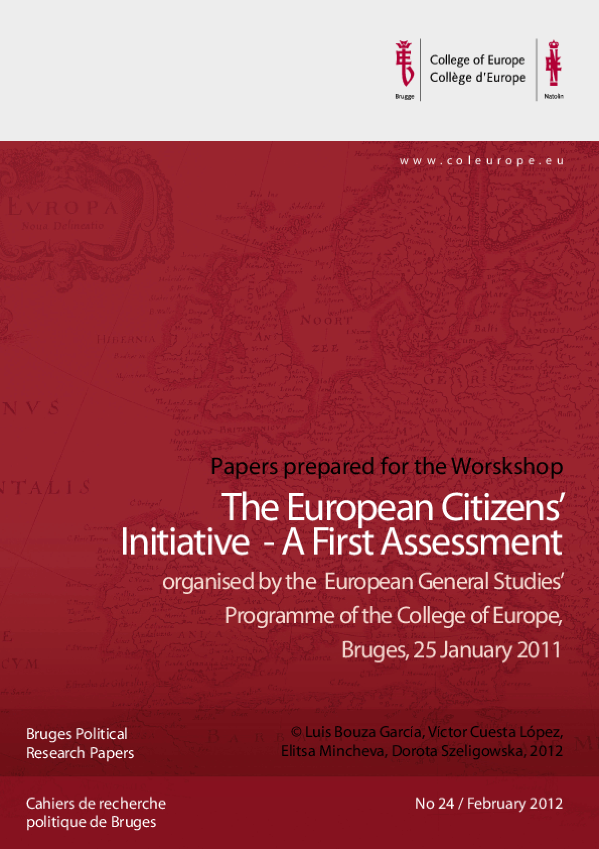 The European Citizens' Initiative: A First Assessment