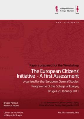 The European Citizens' Initiative: A First Assessment