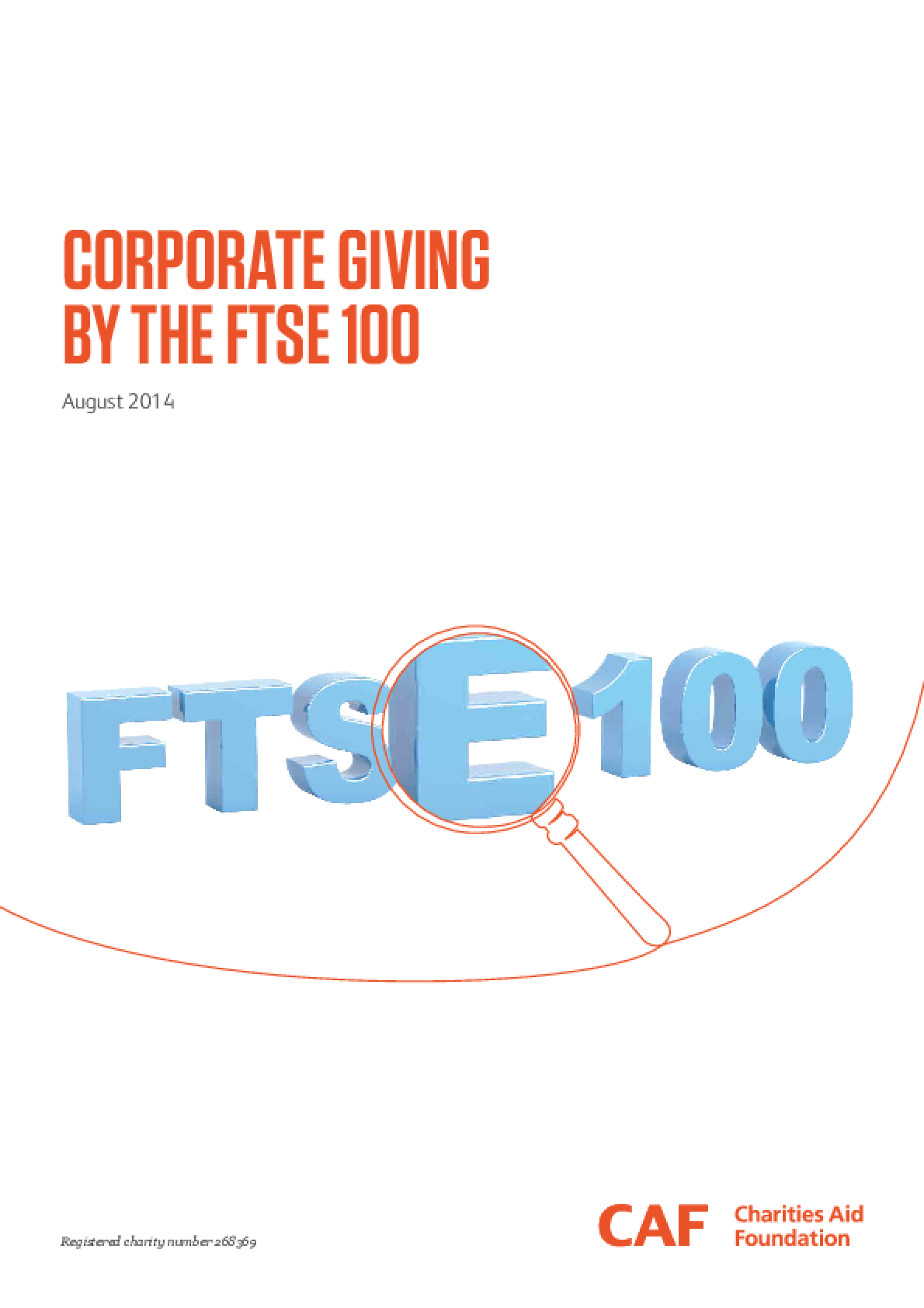 Corporate Giving by the FTSE 100