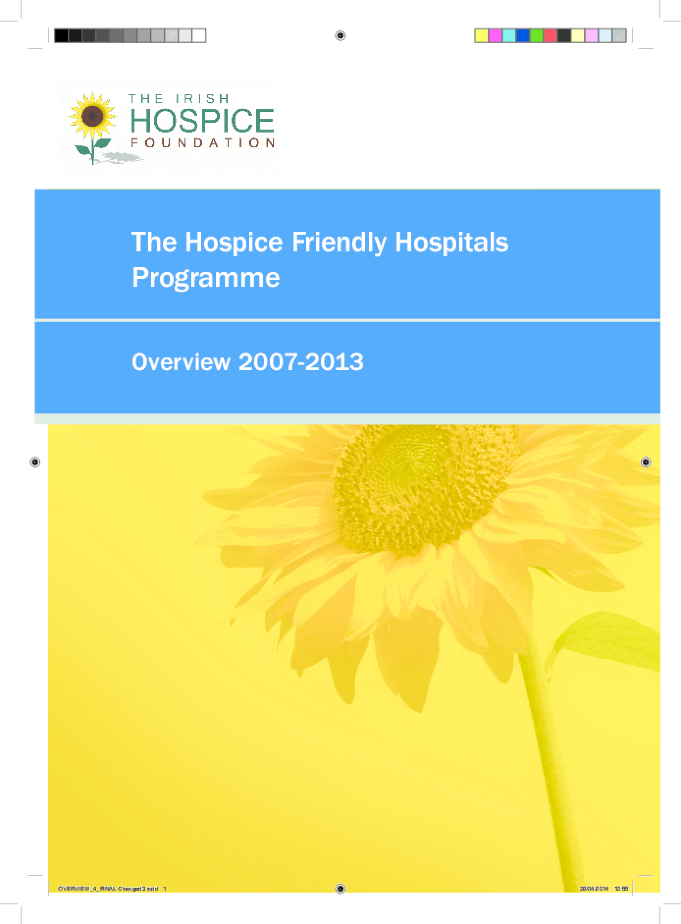 The Hospice Friendly Hospitals Programme