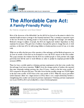 The Affordable Care Act: A Family-Friendly Policy