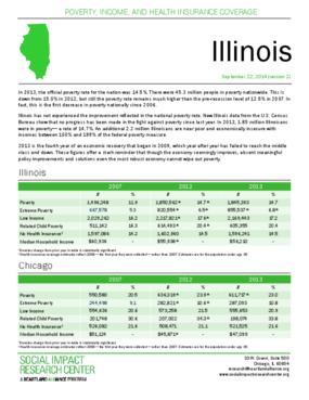 Factsheet: Poverty in Illinois