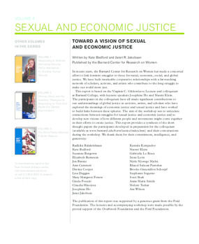 Toward a Vision of Sexual and Economic Justice