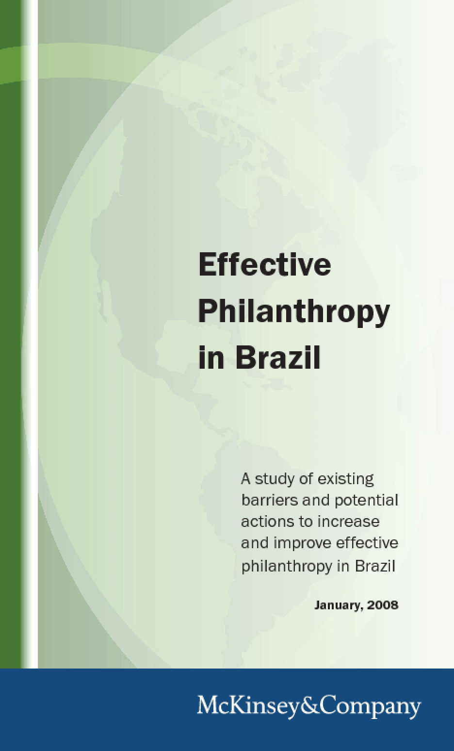 Effective Philanthropy in Brazil