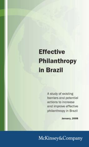 Effective Philanthropy in Brazil