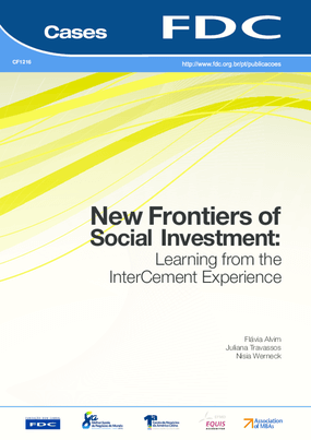 New Frontiers of Social Investment: Learning from the InterCement Experience