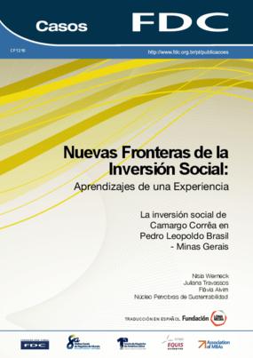 Nuevas fronteras de la inversión social: Aprendizajes de una experiencia