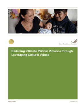Reducing Intimate Partner Violence through Leveraging Cultural Values