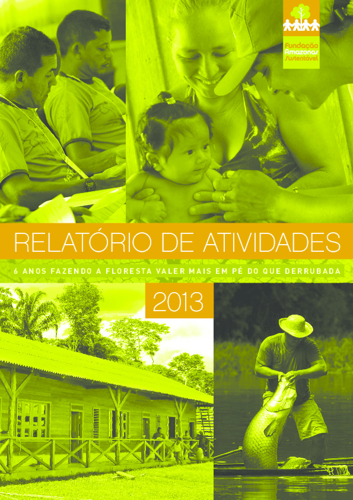 Relatório de atividades 2013 - Fundação Amazonas Sustentável