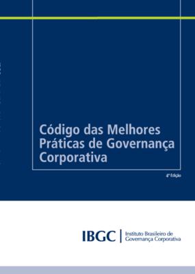 Código das melhores práticas de governança corporativa