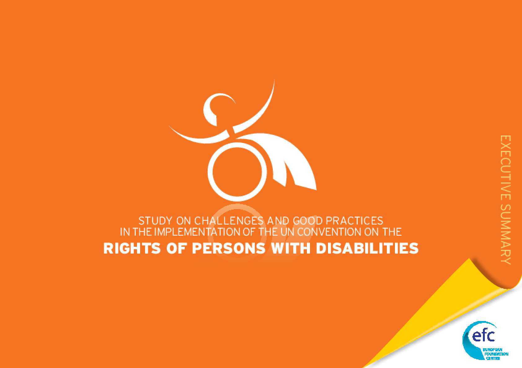 Study on Challenges and Good Practices in the Implementation of the UN Convention on the Rights of Persons with Disabilities : Executive Summary