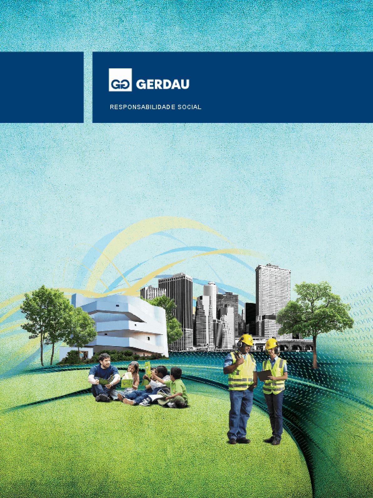 Relatório de responsabilidade social - Gerdau