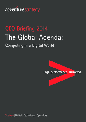 The Global Agenda: Competing in a Digital World