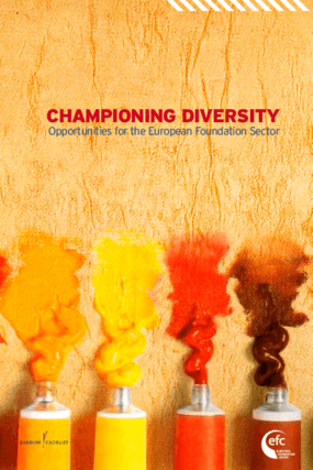 Championing Diversity: Opportunities for the European Foundation Sector