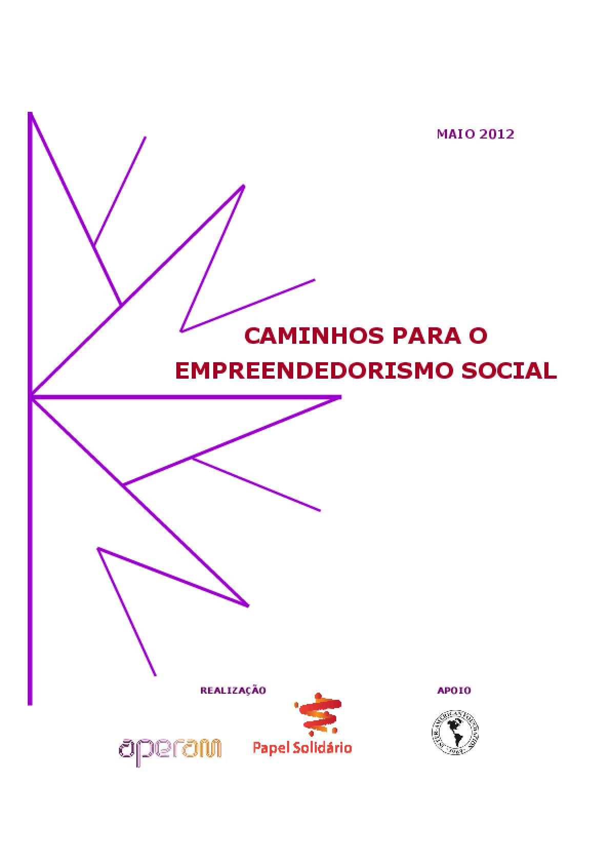 Caminhos para o empreendedorismo social