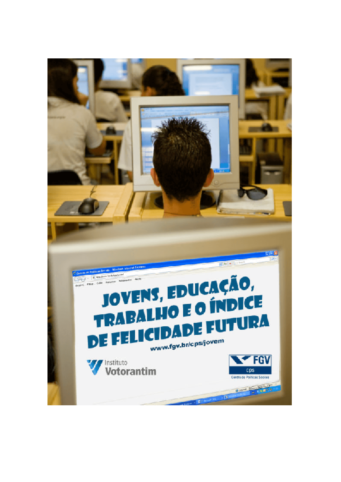 Jovens, educação, trabalho e o indice de felicidade futura