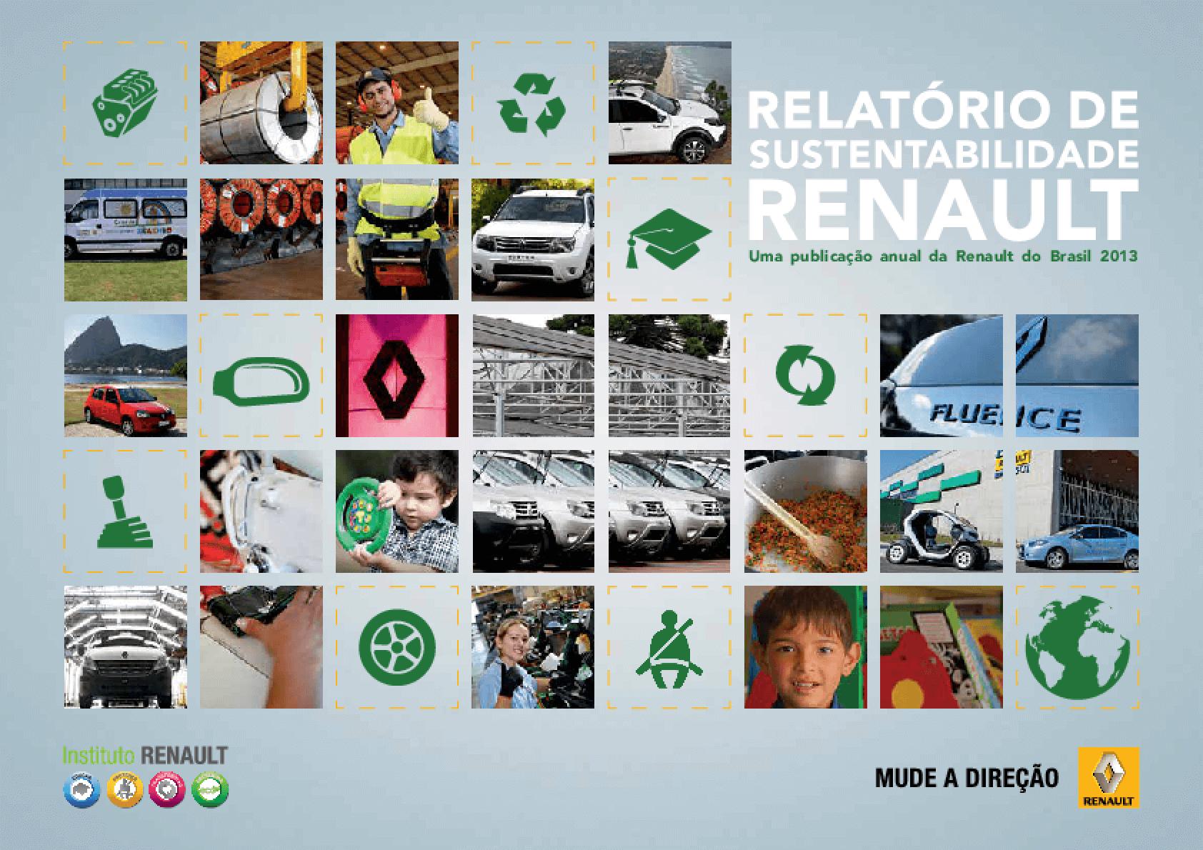 Relatório de sustentabilidade 2013 - Instituto Renault