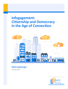 Infogagement: Citizenship and Democracy in the Age of Connection