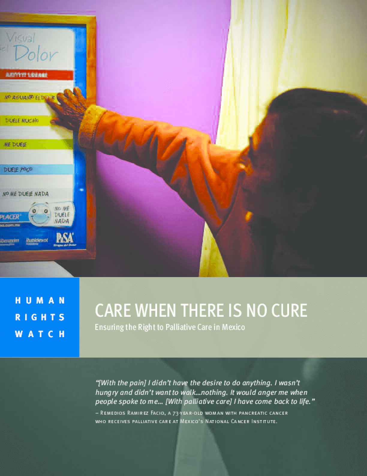 Care When There is No Cure: Ensuring the Right to Palliative Care in Mexico