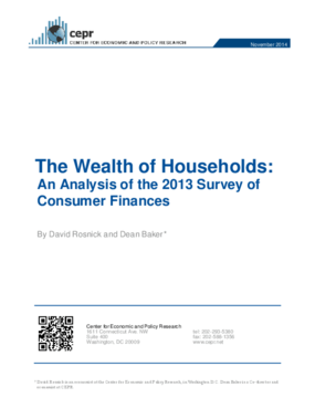 The Wealth of Households: An Analysis of the 2013 Survey of Consumer Finances
