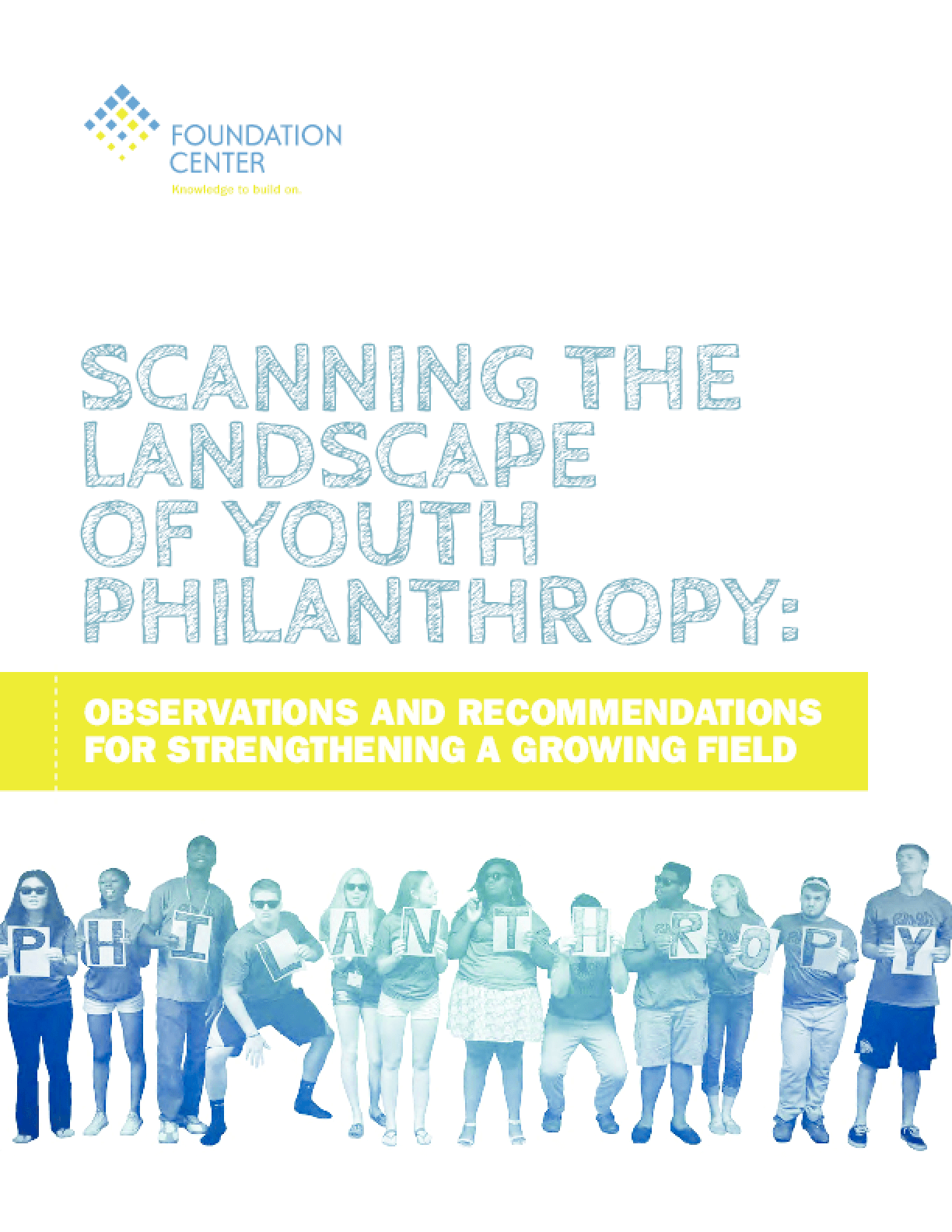 Scanning the Landscape of Youth Philanthropy