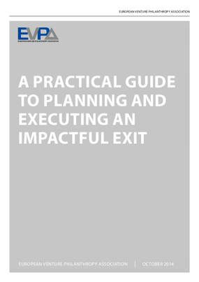 A Practical Guide to Planning and Executing and Impactful Exit