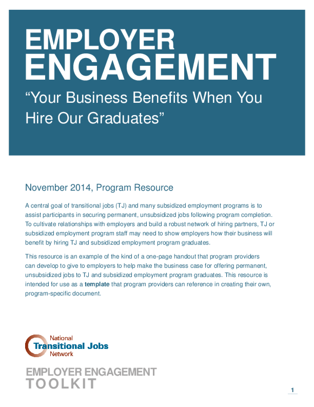 Employer Engagement: Your Business Benefits When You Hire Our Graduates