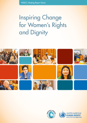 Inspiring Change for Women's Rights and Dignity