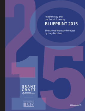 Philanthropy and the Social Economy: Blueprint 2015