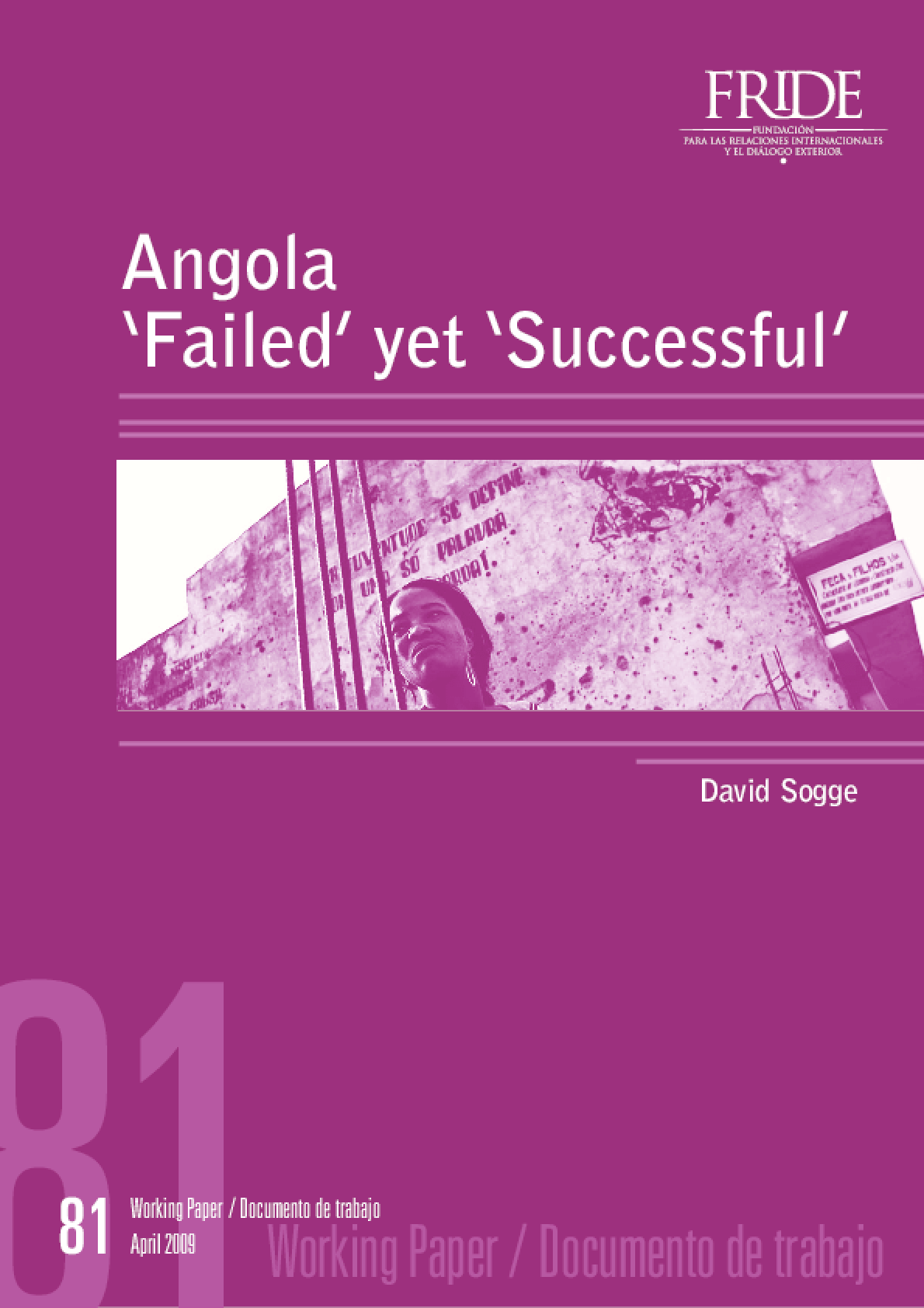 Angola 'failed' Yet 'successful'
