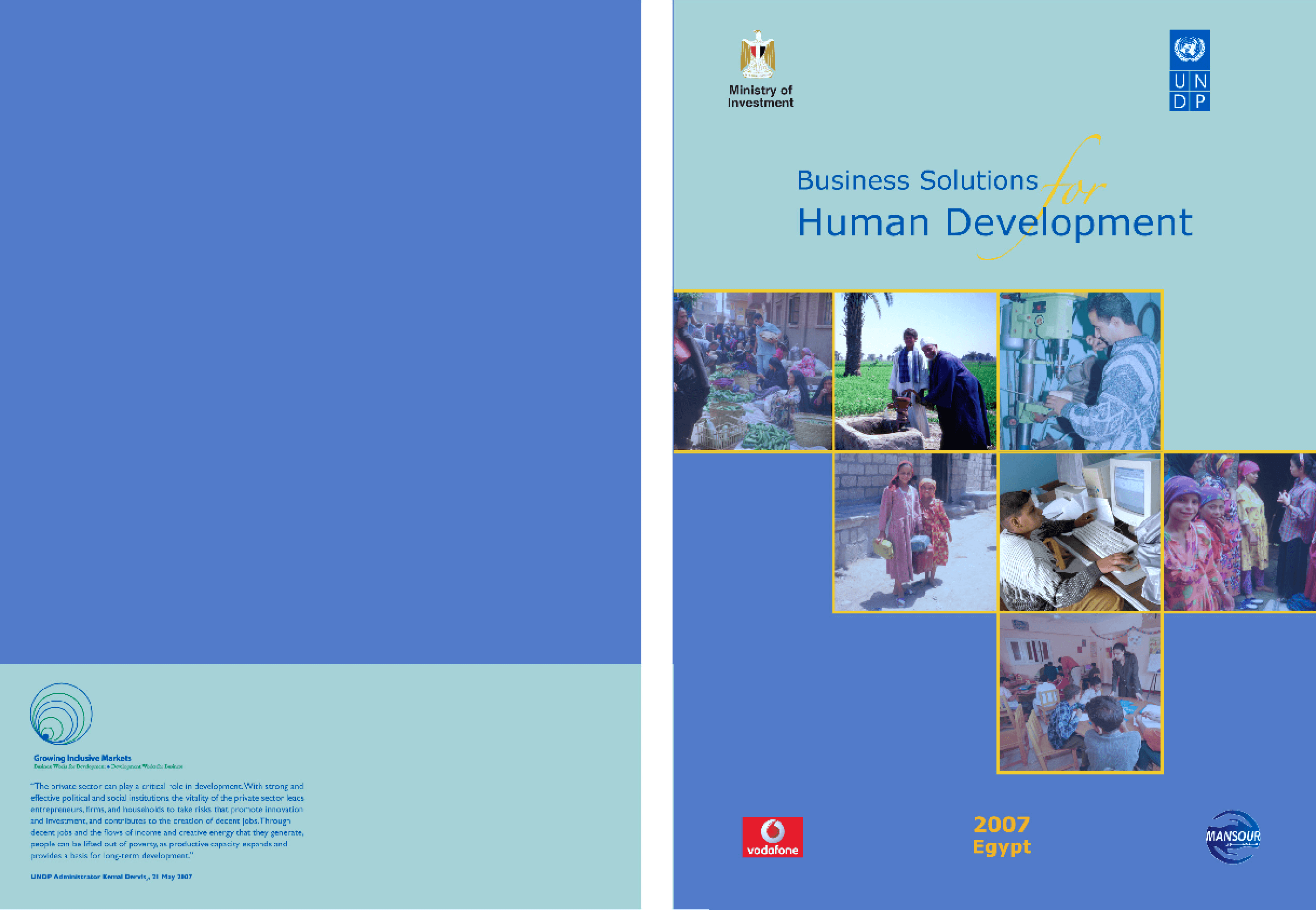 Business Solutions for Human Development