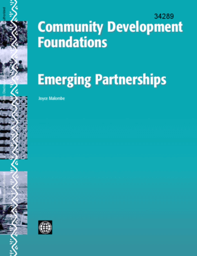 Community Development Foundations: Emerging Partnerships.