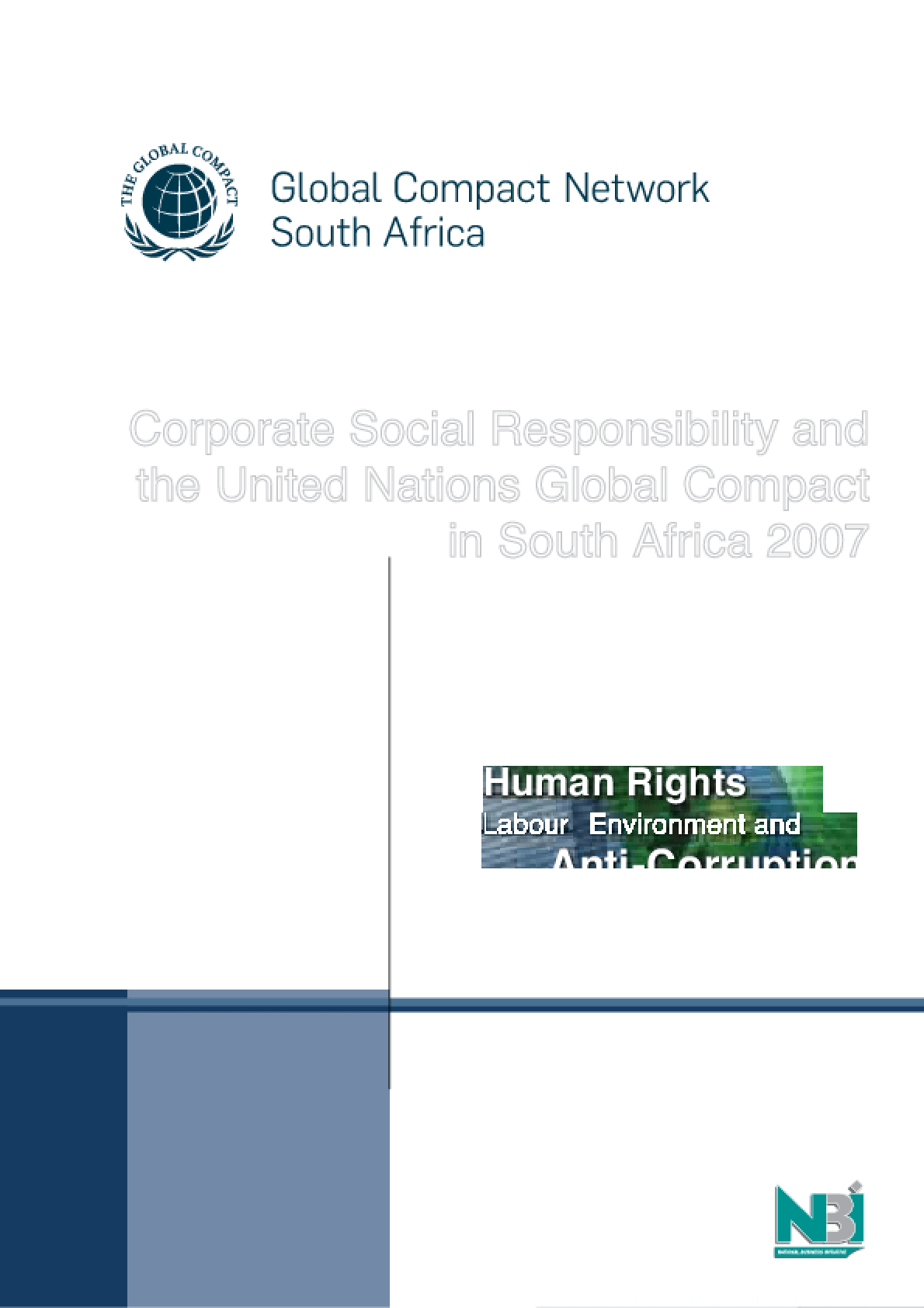 Corporate Social Responsibility and the United Nations Global Compact in South Africa