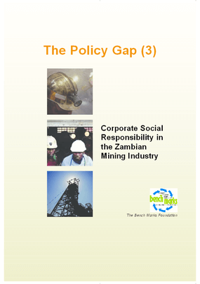 Corporate Social Responsibility on the Zambian Mining Industry