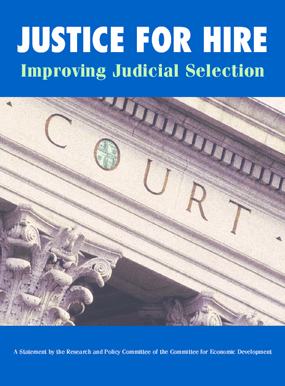 Justice for Hire: Improving Judicial Selection