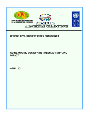 guinean Civil Society: Between Activity And Impact