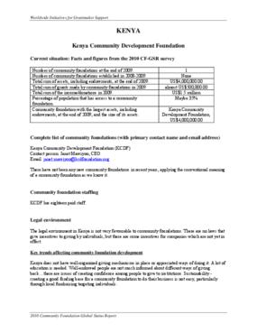 Kenya Community Development Foundation