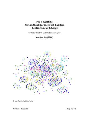 Net Gains: A Handbook for Network Builders Seeking Social Change