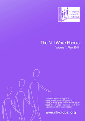 The Nigeria Leadership Initiative White Papers: Volume 1