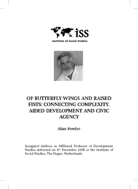 Of Butterfly Wings and Raised Fists: Connecting Complexity, Aided Development and Civic Agency