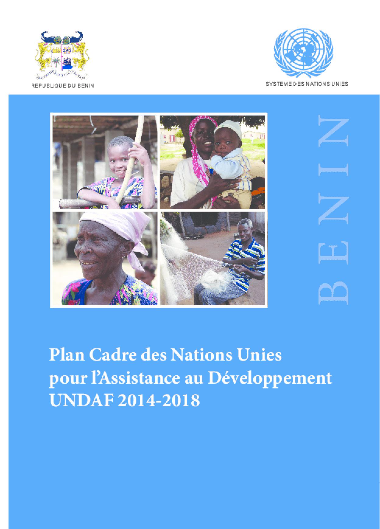 Plan Cadre des Nations Unies Pour L'assistance au Développement du Bénin