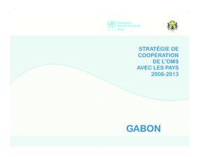 Stratégie de Coopération de L'oms Avec les Pays 2008-2013