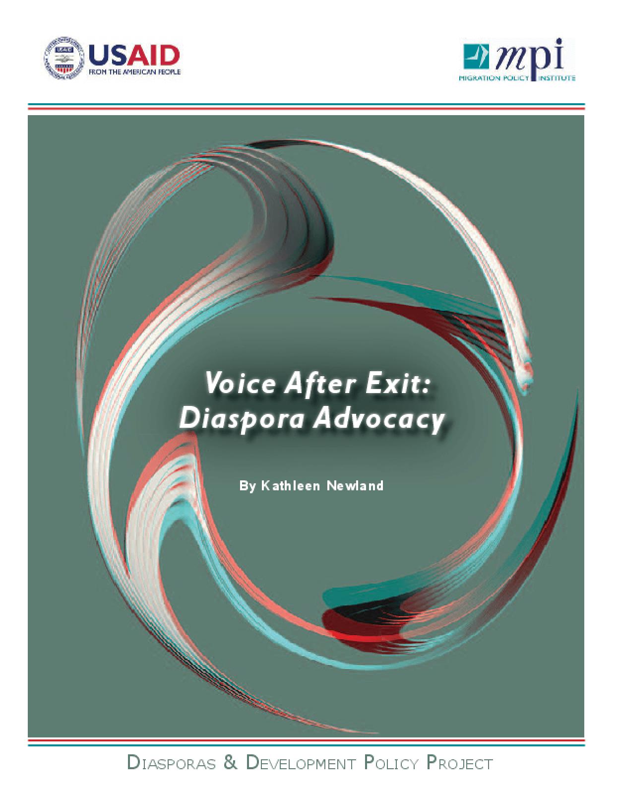 Voice After Exit: Diaspora Advocacy