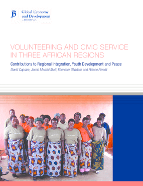 Volunteering and Civic Service in Three African Regions: Contributions to Regional Integration, Youth Development and Peace