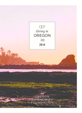 Giving in Oregon 2014