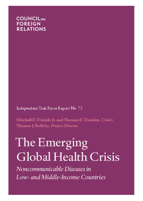 The Emerging Global Health Crisis: Noncommunicable Diseases in Low-and Middle-Icome Countries