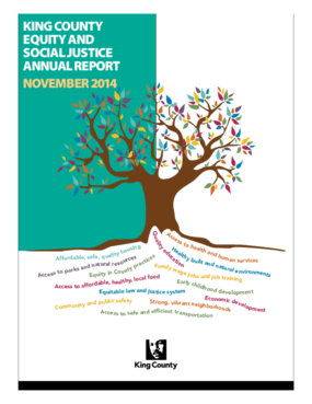King County Equity and Social Justice Annual Report - November 2014