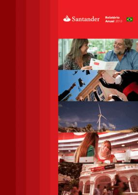 Relatório anual 2013 - Santander