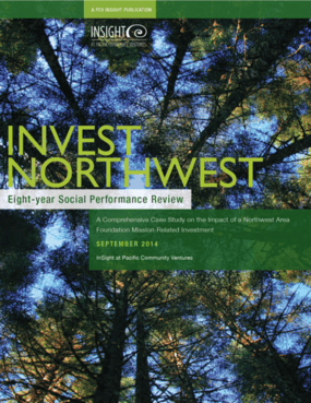 Invest Northwest: Eight -Year Social Performance Review