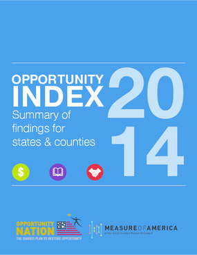Opportunity Index 2014: Summary of Findings for States and Counties